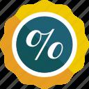 badge, badges, discount, percentage, sale, star, sticker icon