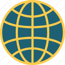 geography, globe, grid, maps, planet, world, worldwide icon