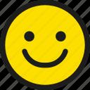 emoji, emoticon, happy, smile, emotion, face, smiley