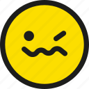 cartoon, emoji, emoticon, face, joke, smile, smiley icon