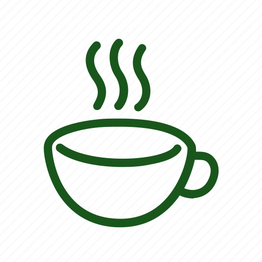 cup, doodle, drawing, hand drawn, steam, tea icon