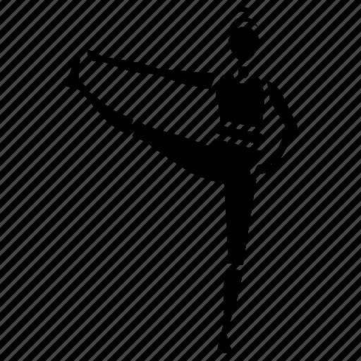 asana, big, fitness, pose, stretch, toe, yoga icon