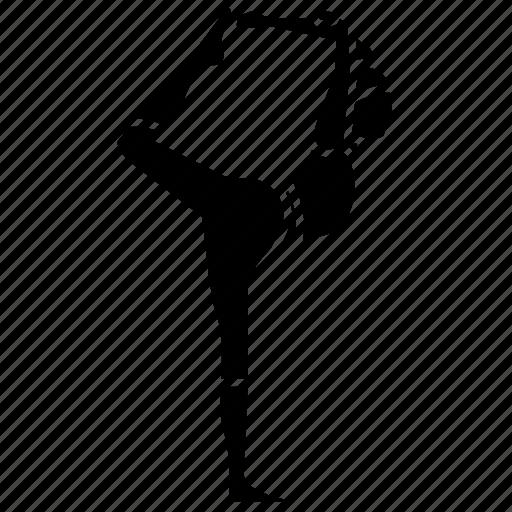 asana, dancer, fitness, ii, king, pose, yoga icon