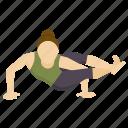 exercise, pose, angle, meditation, yoga