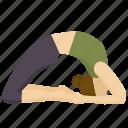 pose, exercise, yoga, meditation, little, thunderbolt