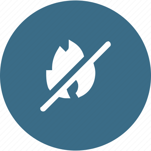 block, cancel, fire, protection, safety icon
