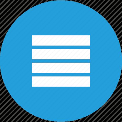 data, list, menu, queue, stack, structure icon