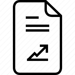 documents, file, graph, list, report, usury, yumminky icon