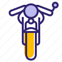 bike, hipster, moto, motorcycle, traveling, vehicle, yumminky icon