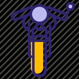 bike, hipster, moto, motorcycle, traveling, vehicle, yumminky icon