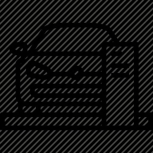 car, dealer, life, new, showroom, volkswagen icon