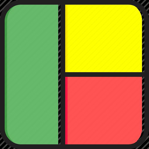 Benin, flag icon - Download on Iconfinder on Iconfinder