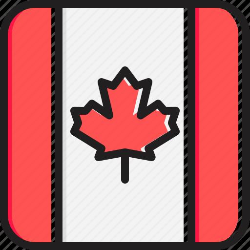 Canada, flag icon - Download on Iconfinder on Iconfinder