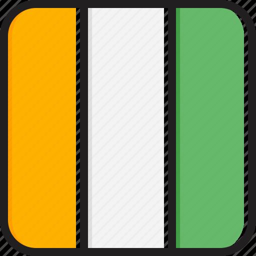 cote, divoire, flag icon