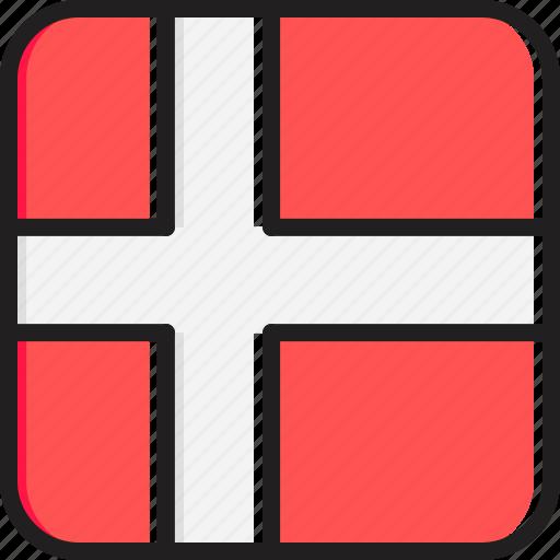 Denmark, flag icon - Download on Iconfinder on Iconfinder
