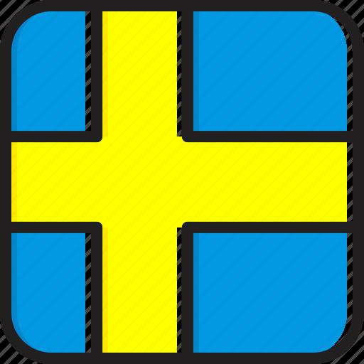Flag, sweden icon - Download on Iconfinder on Iconfinder