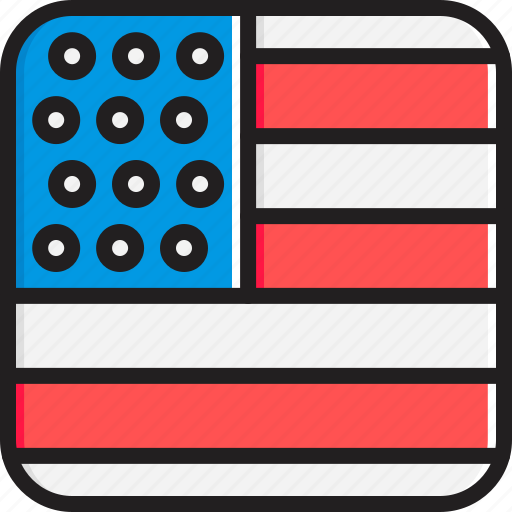 Flag, states, united icon - Download on Iconfinder