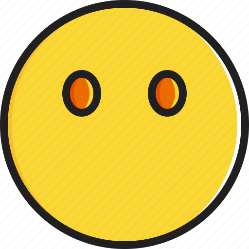 emoticon, face, mouth, smiley, without icon