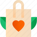 bag, eco, lifestyle, shopping, waste, zero icon