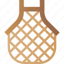bag, eco, lifestyle, mesh, waste, zero icon