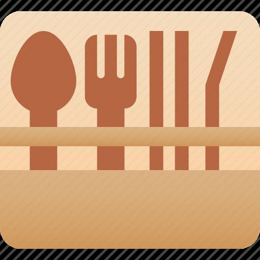 bamboo, eco, lifestyle, utensils, waste, zero icon