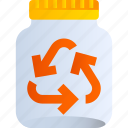 bottle, eco, lifestyle, reusable, waste, zero icon