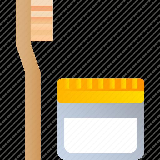 Natural, toothpaste, eco, lifestyle, waste, zero icon - Download on Iconfinder