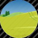 farm, hills, landscape, nature, parks, scenery