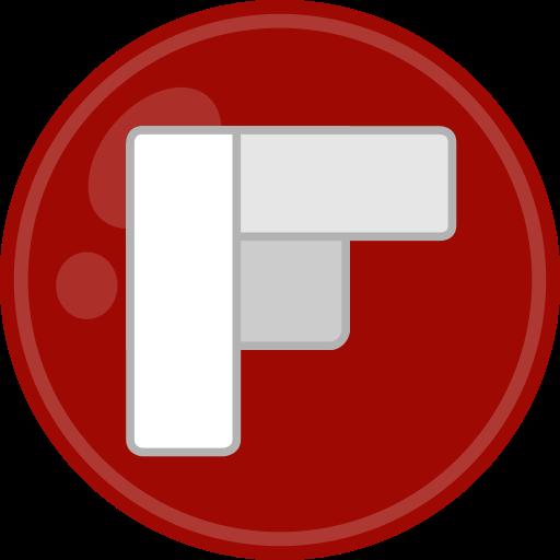flipboard, media, social icon