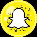 media, snapchat, social icon