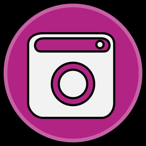 instagram, media, social icon