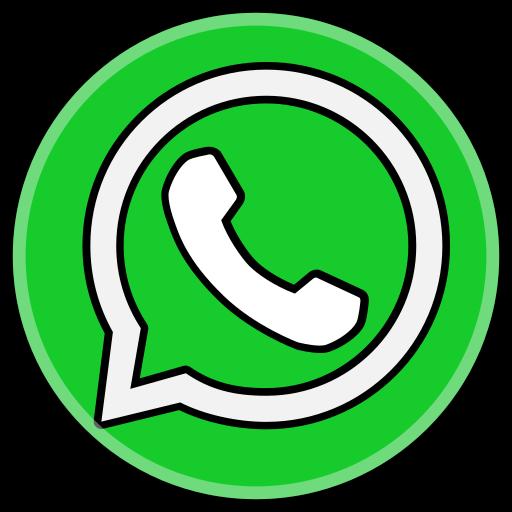 media, social, whatsapp icon
