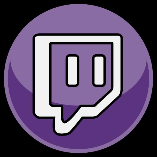 media, social, twitch icon