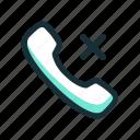 answer, call, error, failed, no icon