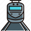 public, railway, train, tram, transport icon