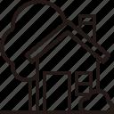 building, garden, house, property, real estate icon