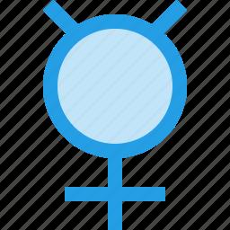 astrology, astronomical, horoscope, mercury, sign, zodiac icon
