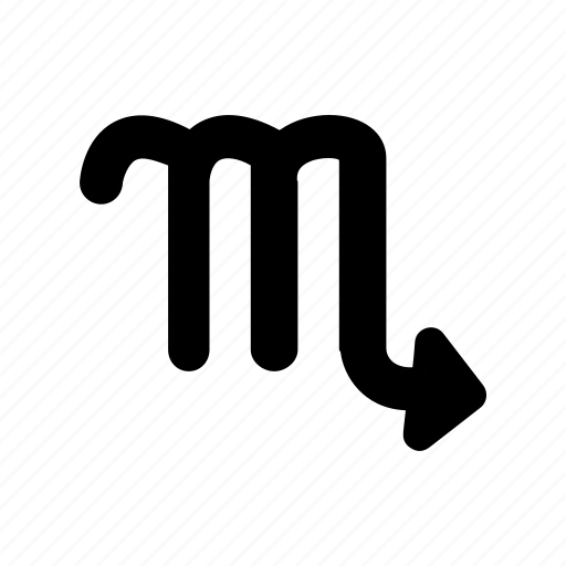 astrology, numerology, scorpio, sign, symbolism, tarrot, zodiac icon