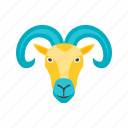 aries, astrology, calendar, horoscope, month, sign, zodiac icon