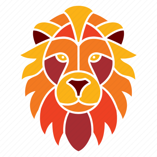 animal, astrology, constellation, leo, lion, wild, zodiac icon