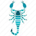 animal, constellation, horoscope, scorpio, scorpion, sign, zodiac icon