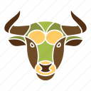 animal, astrology, bull, constellation, horoscope, taurus, zodiac icon