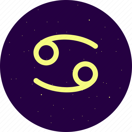 astrology, cancer, constellation, signs, stars, zodiac icon