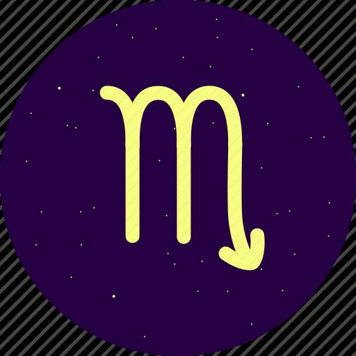 astrology, constellation, scorpio, signs, stars, zodiac icon