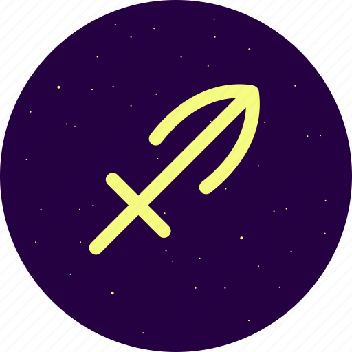 astrology, constellation, sagittarius, signs, stars, zodiac icon