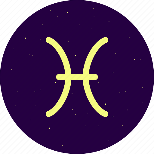 astrology, constellation, pisces, signs, stars, zodiac icon