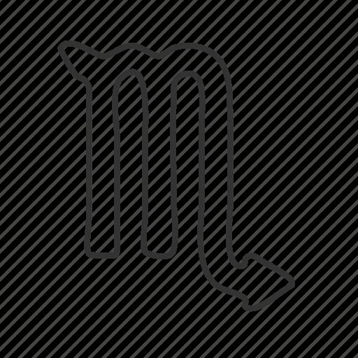 'Zodiac Symbols Wavy Outline' by Eager Logic