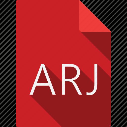arj, document icon