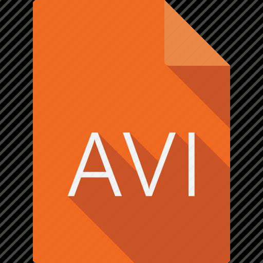 avi, document icon