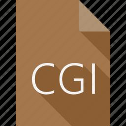 cgi, document icon